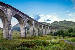 Glenfinnan viadukt, Shotimaa